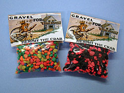 Assorted and Multi Colored Gravel with Dolomite Added