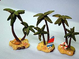 Deluxe Molded Palm Trees Assorted Designs